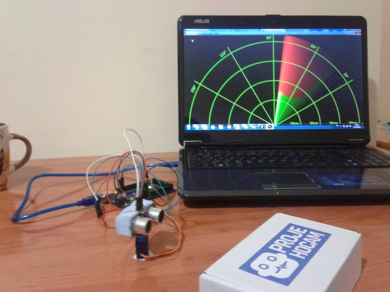 ultrasonic radar project report