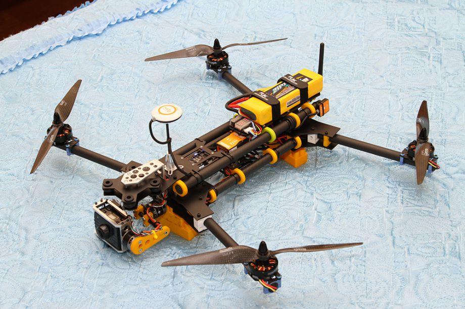 Квадрокоптер как крепить пропеллер солнцезащитная шторка combo как изготовить