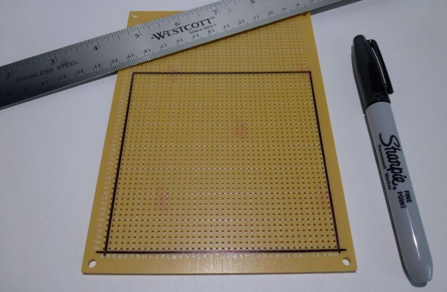 Световой куб матрицы на 4 светодиода