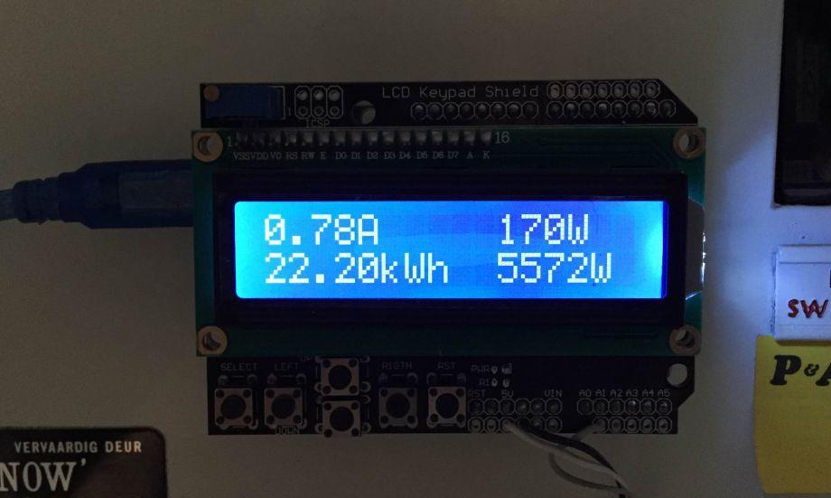 Счетчик электроэнергии на Arduino