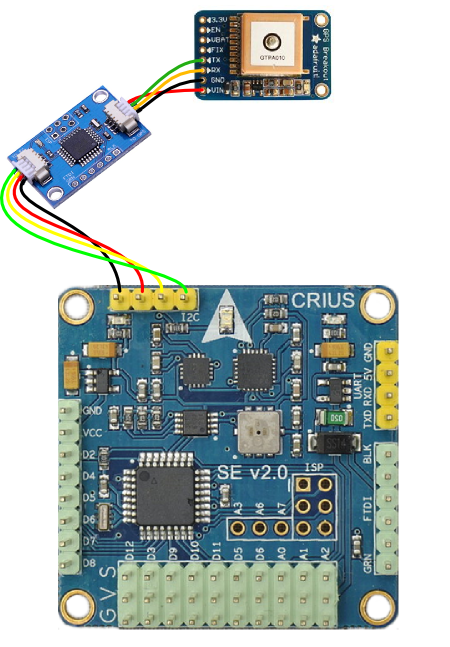 Подключение GPS к Multiwii через i2c конвертер