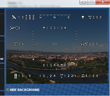 MW OSD экран